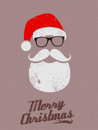 Ilustración de Christmas Santa background - Imagen libre de derechos