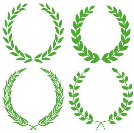 Illustration for Laurel wreath - Royalty Free Image