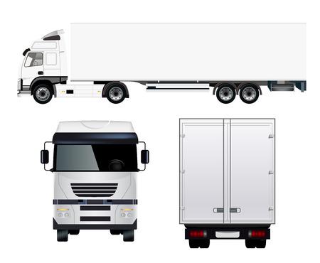 Illustrazione per Cargo Truck - Immagini Royalty Free