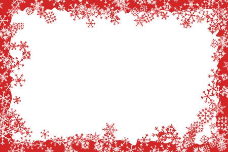 Illustration pour Christmas Frame - image libre de droit