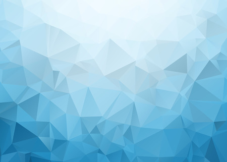 Illustration for Blue Triangle Texture - Royalty Free Image
