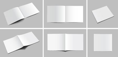 Illustration for Blank Magazine Mockups - Royalty Free Image