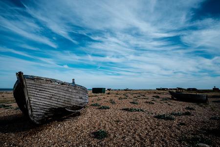 Foto de Abandoned boat - Imagen libre de derechos