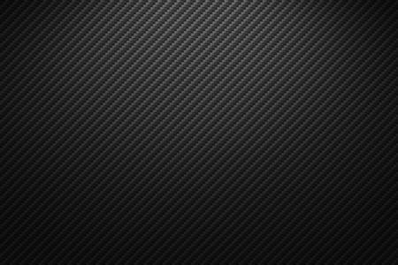 Illustration pour Vector carbon fiber texture. Dark background with lighting. - image libre de droit