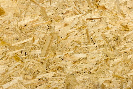 Photo for Pressed wooden panel background seamless texture of oriented strand board - OSB - Royalty Free Image