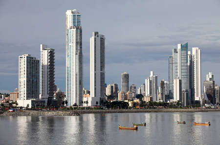 Foto de Skyline of Panama City - Imagen libre de derechos