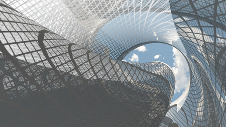 Foto de Contemporary Architecture - Imagen libre de derechos