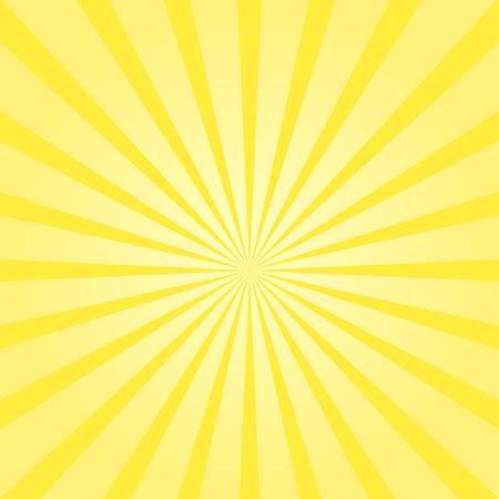 Ilustración de Vector sunburst sunshine texture yellow color background sunbeam - Imagen libre de derechos