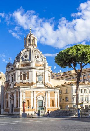 Foto per Santa Maria di Loreto in Rome - Immagine Royalty Free