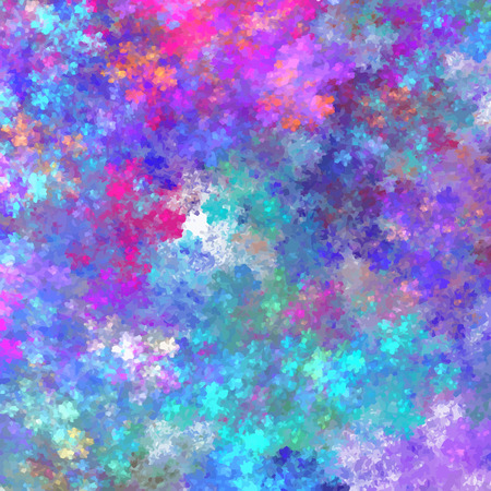 Illustration pour Abstract texture for colorful banner design. Multicolored ink splashes in vector format. - image libre de droit