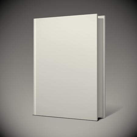 Illustration pour Blank book cover - image libre de droit