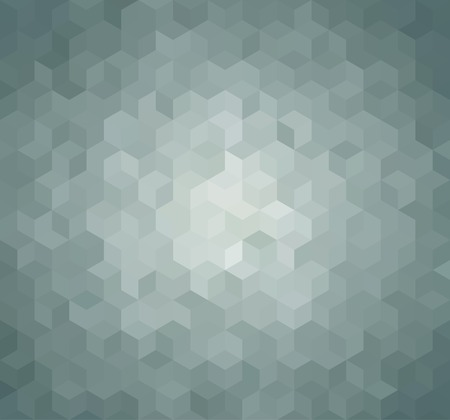 Photo pour Blue Triangle Abstract Background. Vector Pattern of Geometric Shapes - image libre de droit