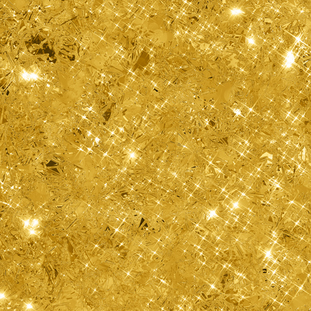 Photo for Abstract gold background with copy space. Gold glitter background. Gold glittering texture. - Royalty Free Image