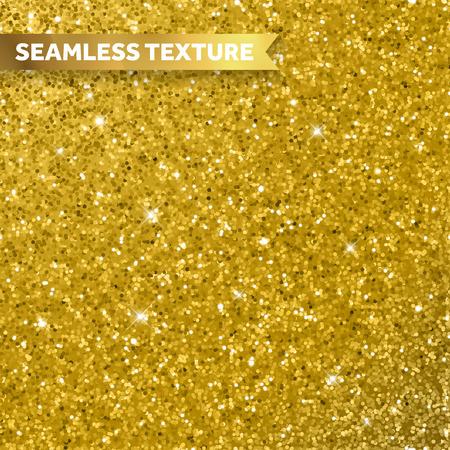 Illustration pour Gold glitter texture background - image libre de droit