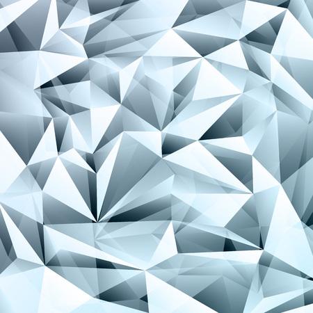 Illustration pour Blue abstract crystal fractals texture background - image libre de droit