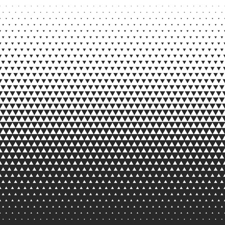 Illustration for Fade gradient pattern. Vector gradient seamless background. Gradient halftone texture. - Royalty Free Image