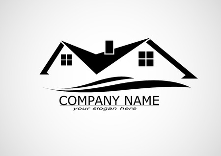 Illustration pour House Real Estate logo or icon design - image libre de droit