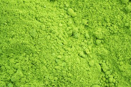 Photo pour Background of Powdered green tea - image libre de droit