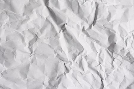 Foto de Abstract texture background of wrinkled white paper - Imagen libre de derechos