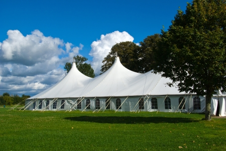 Photo for Party events wedding celebration banquet tent - Royalty Free Image