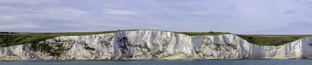 Photo for White cliffs of England in Dover, United Kingdom - Royalty Free Image