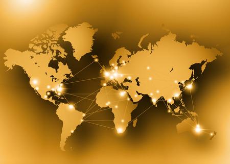 Illustration pour Internet concept of global business. Vector illustration - image libre de droit