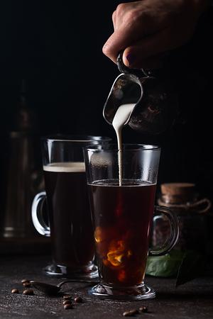 Foto de Glass cup of coffee - Imagen libre de derechos