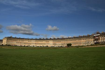 Foto de Royal Crescent in Bath England - Imagen libre de derechos