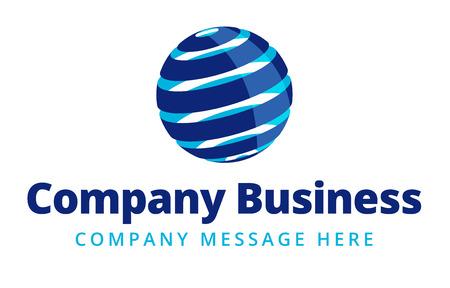 Foto de Business Logo Symbol Name Concept - Imagen libre de derechos