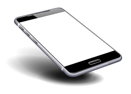 Illustration for Phone Cell Smart Mobile high detailed illustration - Royalty Free Image