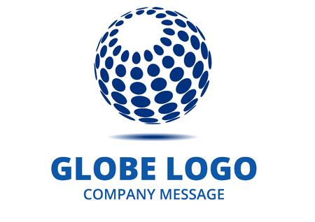 Foto de Abstract Globe Logo - Imagen libre de derechos
