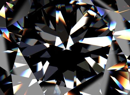 Photo pour Ring with Diamond. Jewelry background - image libre de droit