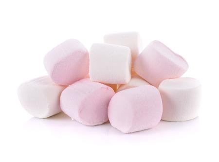 Photo for Marshmallow on white background - Royalty Free Image