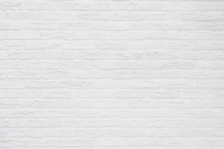 Photo for white brick wall background - Royalty Free Image
