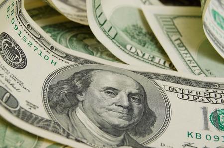 Photo pour A lot of cash US dollars. - image libre de droit
