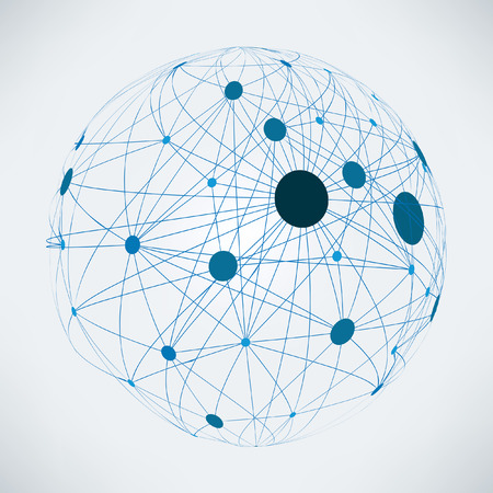 Abstract global network | EPS10 vector design