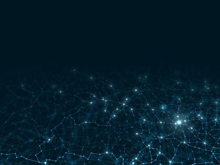 Foto de Abstract mesh background Futuristic vector illustration - Imagen libre de derechos