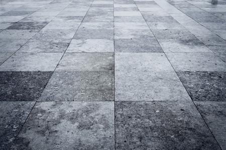 Photo pour Granite square texture background with dark edges - image libre de droit