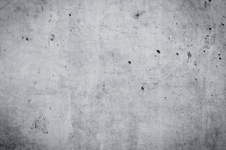 Foto de Grungy and smooth bare concrete wall for background - Imagen libre de derechos