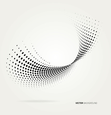 Illustration for Vector halftone dots. - Royalty Free Image