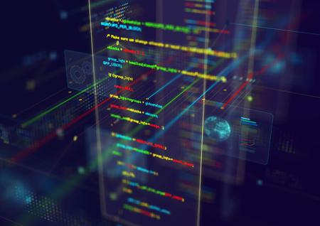 Photo pour Abstract techno background. - image libre de droit