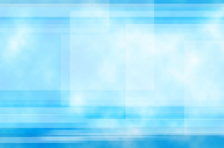 Blue and Line background of abstract