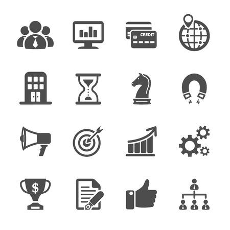 Illustration pour business and finance icon set, vector eps10. - image libre de droit