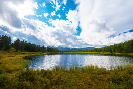 Photo for Lake in the Altai Mountains, Siberia - Royalty Free Image