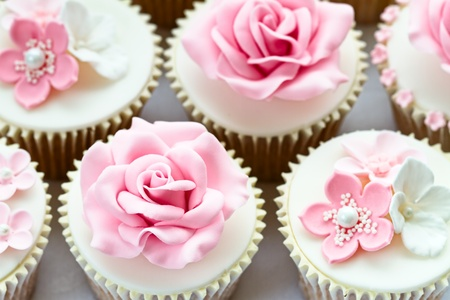 Foto per Wedding cupcakes - Immagine Royalty Free