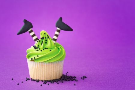 Photo for Cupcake with a Halloween theme - Royalty Free Image