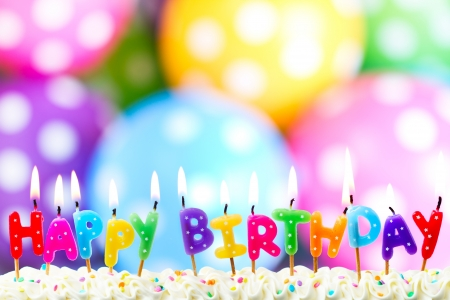Photo for Birthday candles - Royalty Free Image