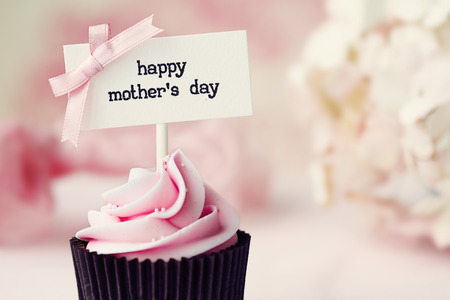 Photo for Mother s day cupcake - Royalty Free Image