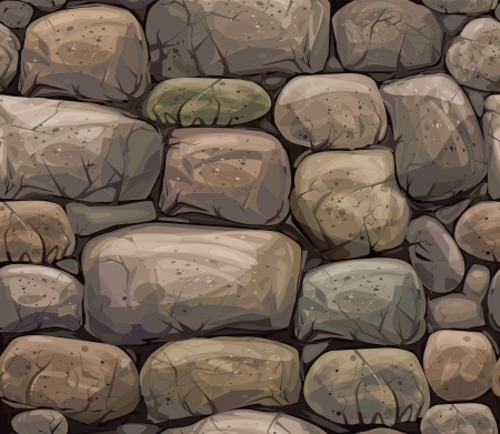 seamless texture of stones in brown colors