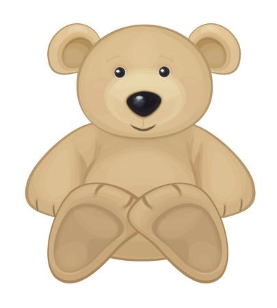 Illustration pour Cute bear   - image libre de droit